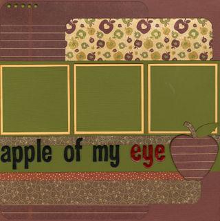 Apple of my eye layout