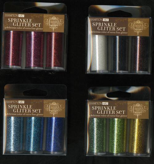 Hampton Arts Glitter Sets