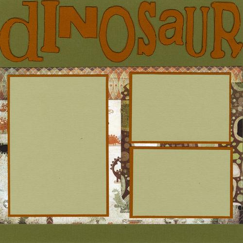 Dinosaur World page 1