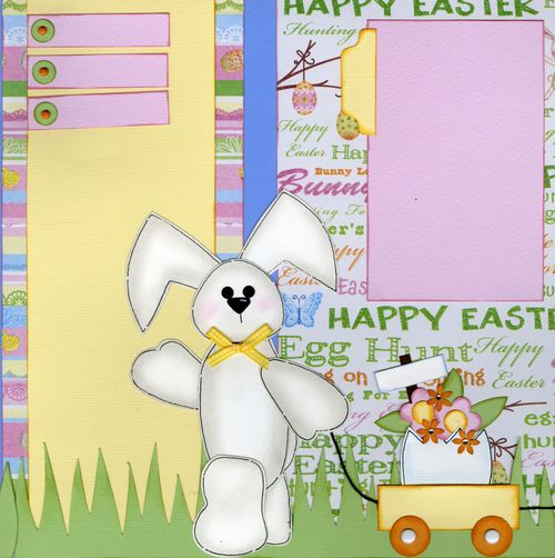 Easter Layout Tammy page 1