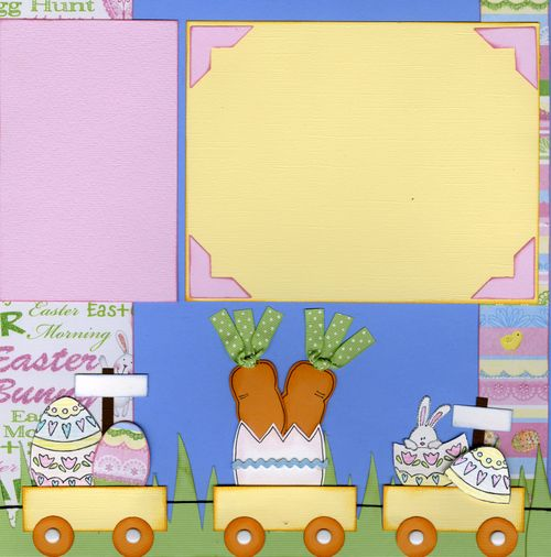 Easter Layout Tammy page 2