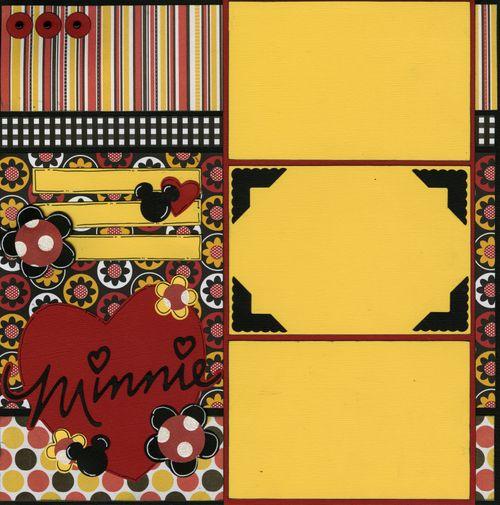 Minnie layout page 1