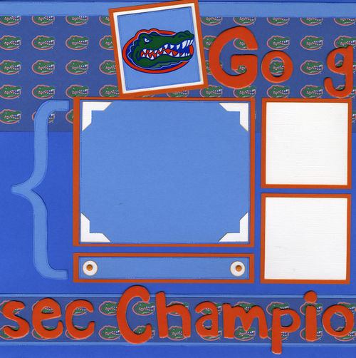 Go Gators layout page 1