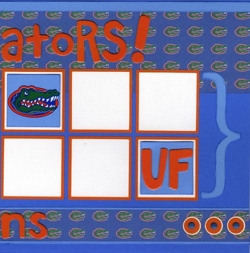 Go Gators layout page 2