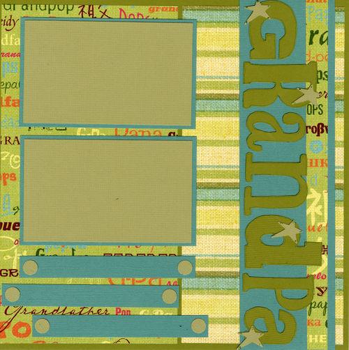 Grandpa layout page 2