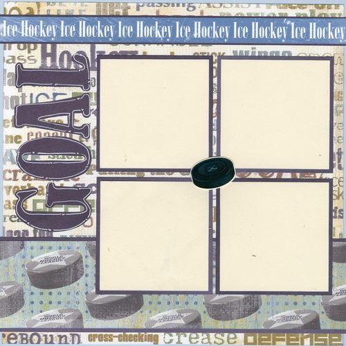 Hockey Goal page 1