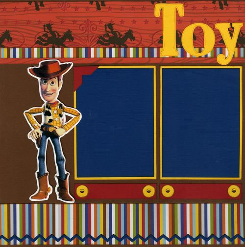 Toy Story page 1