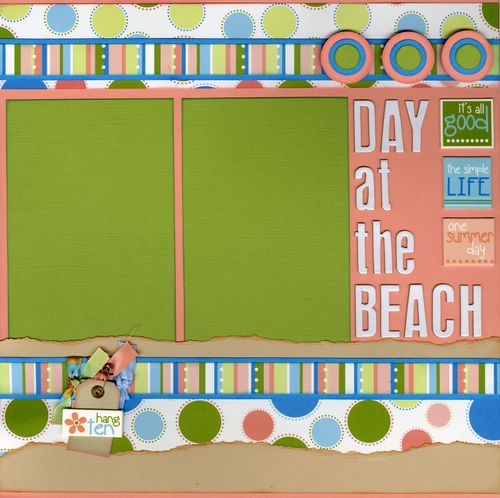 Day at the Beach CHA kit page 2