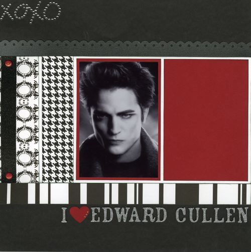 I heart Edward Cullen CHA kit page 1