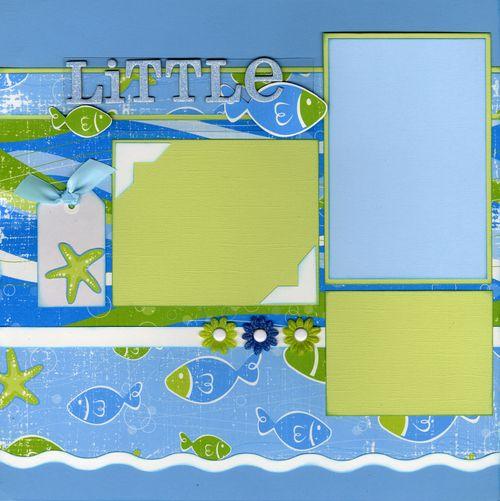 Little Fish layout CHA kit page 1