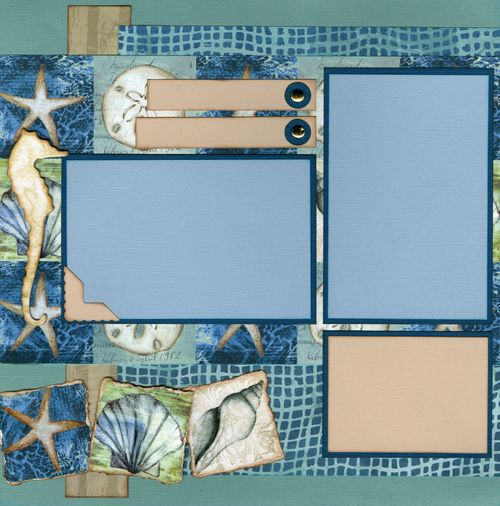 Tidepools By the Sea CHA kit page 1