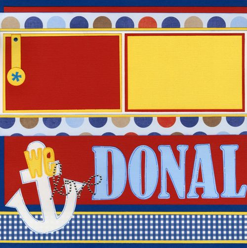 We love Donald Duck CHA kit page 1