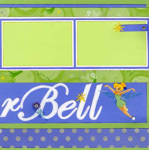 We love Tinkerbell CHA kit page 2
