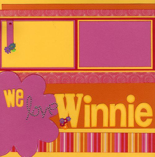 We love Winnie the Pooh CHA kit page1