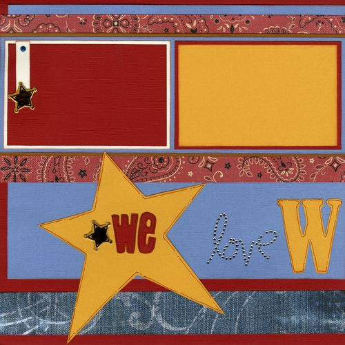 We love Woody CHA kit page 1
