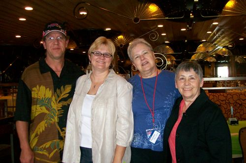 Brad, Julie, Fran and Mike