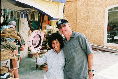 Kennie and Jim in Playa Del Carmen