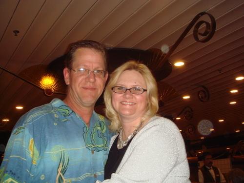 Brad and Julie