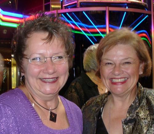 Debbie Walsh and Miss Patti