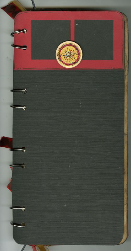 Pirate Book Inside Cover with Red Flap