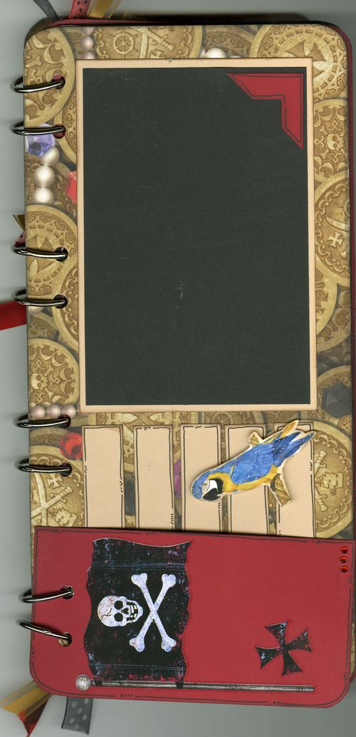 Pirate Book Page 1 front with flap