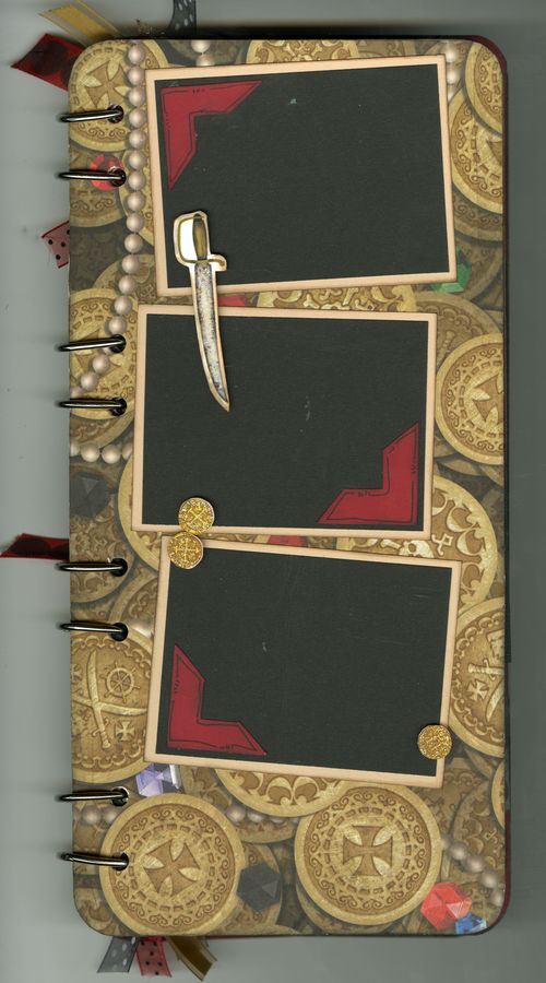 Pirate Book page 3 back no flap