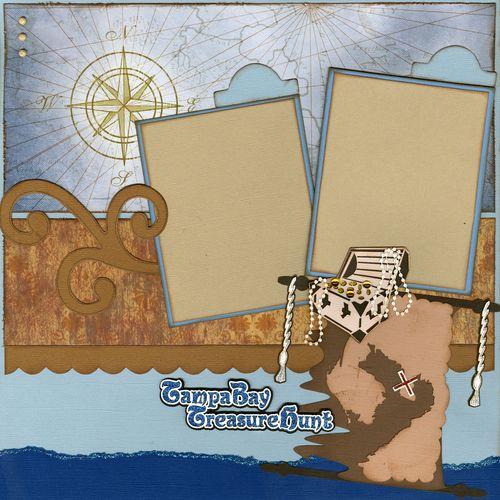 Treasure hunt  blue page 1
